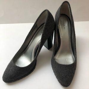 Tahari Gray High Heeis Size 9 Remini